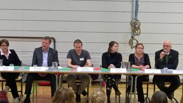 Vaalipaneelissa Järvenpäässä