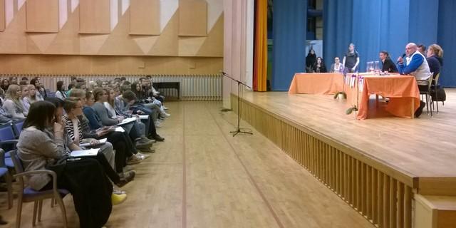 Espoon Steinerkoulun vaalipaneeli 19.3.
