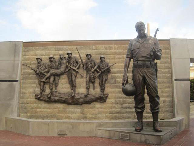 atlantic city, vietnamin sodan uhrien muistomerkki atlantic cityn rannalla