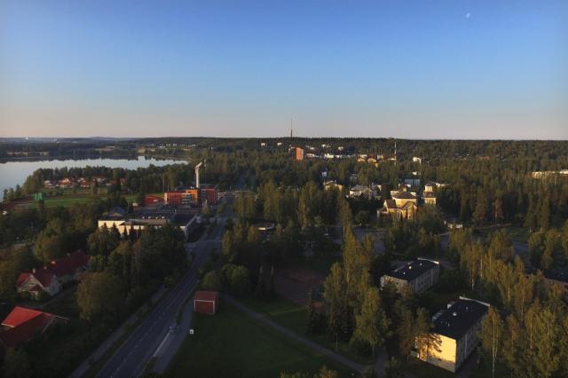 Ylöjärven keskustaa 2019