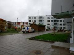 Kiveys 5.2 kerrostalo Vaasa, Pihanrakennus Valo Ky