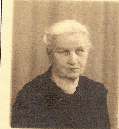 Anna Kaisa Koskinen os Piitulainen s. 1871 Ilomantsissa