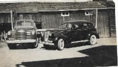 faija Tapion uusi 47 mallin Chevrolet
