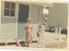 Saavuttu äidin kanssa Aussiin Bonegilla 7.1._1969
