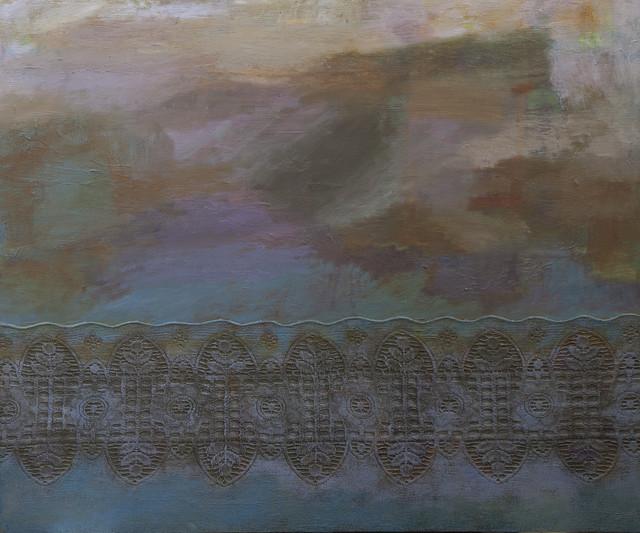 Hämärä 3, 2014, öljyväri, 100x120cm