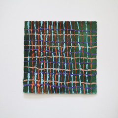 maalaus 19cmx19cm, akvarelli/akryyli