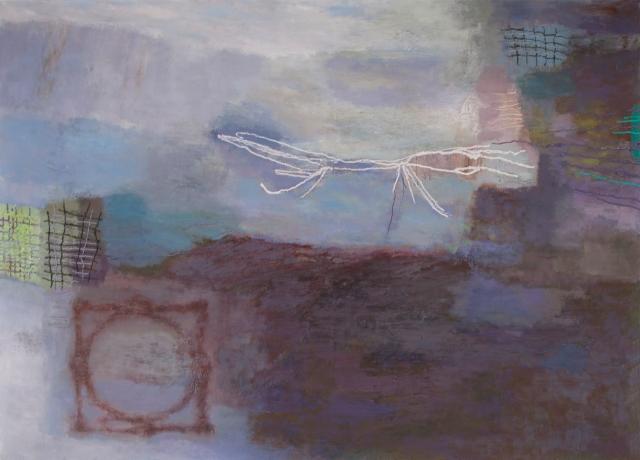 Hämärän palttinat 2, 2015, öljyväri, oil on canvas