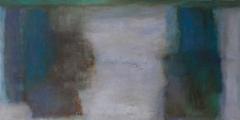 Hämärän verhot, 2015, öljyväri, oil on canvas