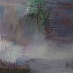 Lokakuun kuume / October Fever 2015, öljyväri / oil on canvas 100cmX100cm