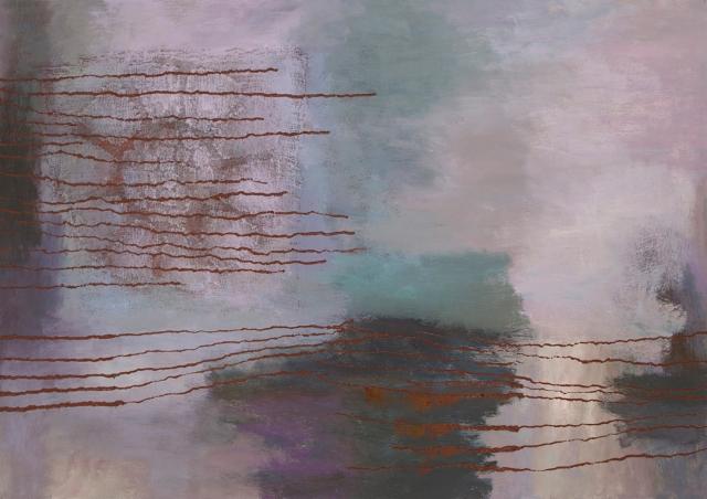 Lokakuun unelmat / October Dreams, 2015, öljyväri / oil on canvas