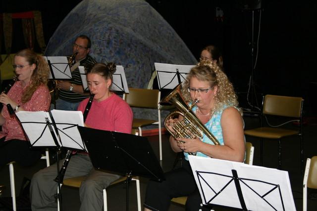 2008 AIV orkesterin harjoitukset