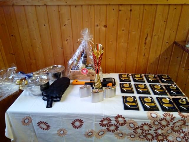 Palkintopöytää