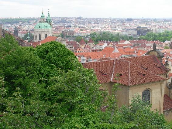 Praha on upea kaupunki