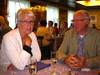 Maritta ja Martti aloittelemassa laivan illallista