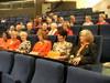 Kuvia kokouksen osannottajista