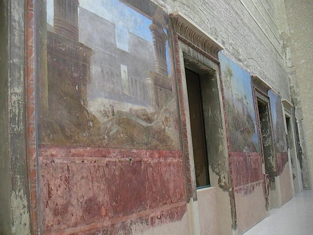 Vanhoja seinämaalauksia