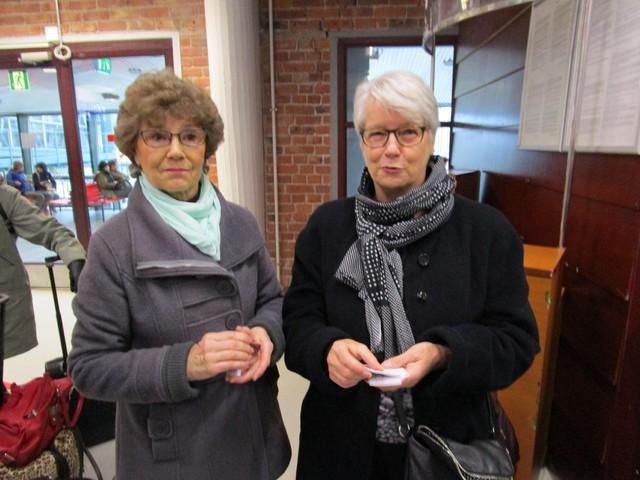 Anna-Liisa Maanonen ja Marita Tammi vastasivat matkan järjestelyistä