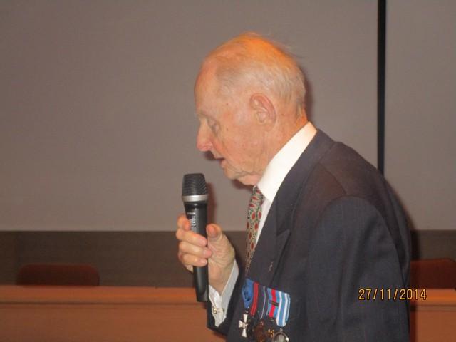 Seppo Soratie muisteli myös sota-ajan kokemuksiaan