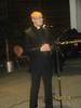 Kappalainen Jouni Hartikainen esitti seurakunnan joulutervehdyksen