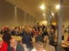 Ruokasaliin mahtui hyvin 500 vierasta syömään