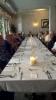 Pitkä Illallispöytä La Boheme-ravintolassa
