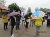 Saimme myös sadetta niskaamme Trakain retkellä