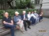 KGB-museo on nähty ja nyt odotellaan bussia, joka vei meidät Vilna lentokentälle