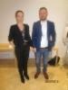 Iiris Saranpää ja Samuli Paronen esittivät kokousväelle demon tuulilasivahinkoilmoituksen tekemisestä verkossa
