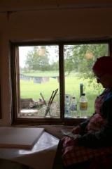 Ikkunan ulkopuolelta löytyi Maijan aihe.