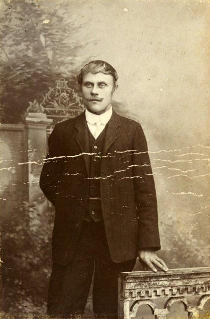 Elias Lantta miehuusiässään