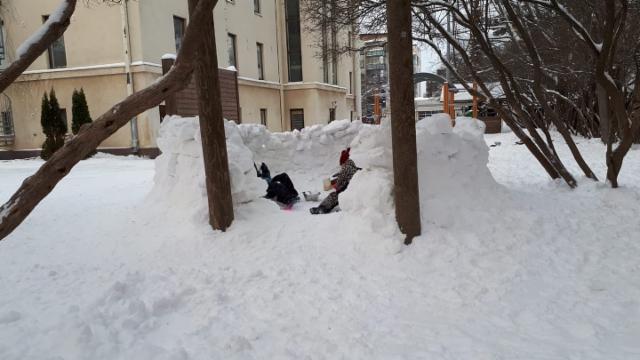 Iltisläisten lumilinna