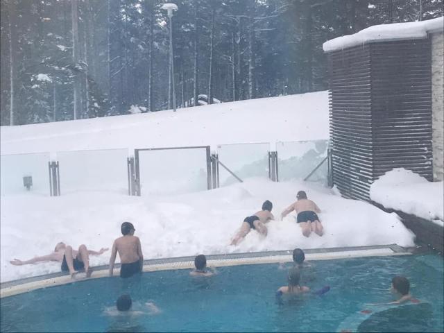 Talviurheilua Yyterissä