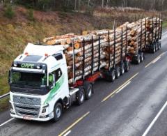 I Finland Orpe Kuljetus Oy:s HCT-ekipage på 31 meter och 94 ton har varit i trafik sedan hösten 2014