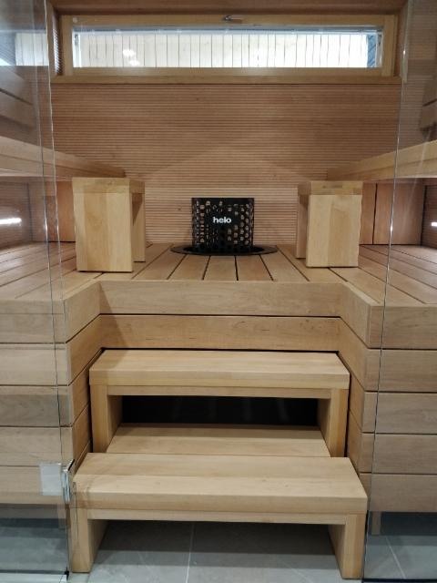 Tervaleppä lauteet. Ylälauteet, nousupenkki, rahit 52mm massiivi lankku