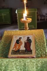Tsasouna on pyhitetty apostolien Pietarin ja Paavalin mukaan