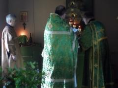 Liturgian toimitti isä Raimo Sissonen.