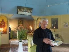 Viktor Jetsu toimi leirin kanttorina.