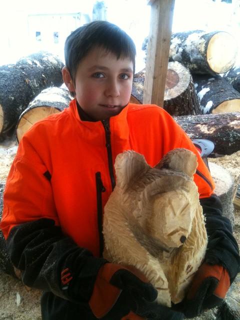 Eliaksen eka karhu