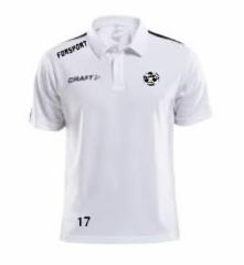 craft Polo pique paita valkoinen