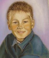 Farkkupuseroinen poika
