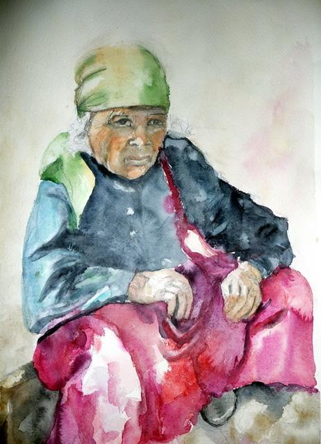 Nepalilainen mummo