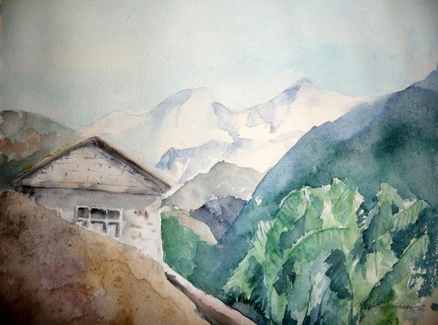 Vuorten kainalossa