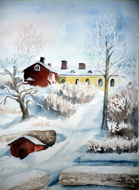 Linnoitus talvella