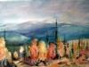 Ensilumi satoi tunturille, kilpailutyö, joka hyväksyttiin IWS:n Suomen akvarellinäyttelyyn