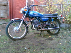 yamaha 125 as3 1974