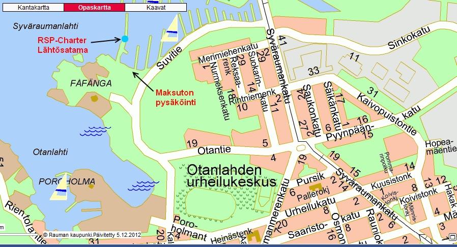 Kartta Rauma