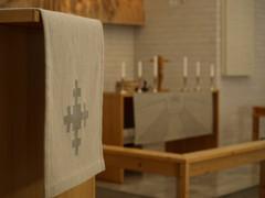 kirkko saarnatuoli