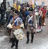 Historiallinen kulkue Porvoon valtiopäivien 200-vuotisjuhlassa