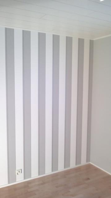 uudet seinät ja listat