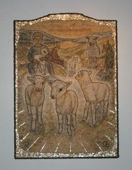 Alttaritaulu Karitsat 92 x 66 2006